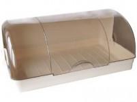 chlebovka 42x23x17cm plastová - mix barev - VÝPRODEJ