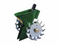 Strojek secí zelený