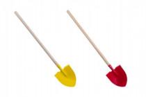 Rýč s násadou špičatý kov/dřevo 80cm nářadí - mix variant či barev