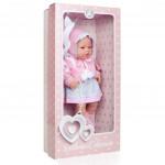 Luxusní dětská panenka-miminko Berbesa Amanda 43cm - VÝPRODEJ