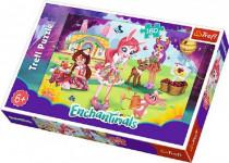 Puzzle Enchantimals 41x27,5cm 160 dílků