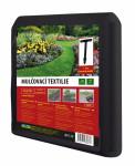 Textilie KONTEX mulčovací černá+6 ks kotvících kolíků 1,6x9m