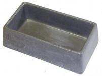 miska obdélník 245x135x75mm beton (85) - VÝPRODEJ
