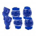 Spokey Aegis 3-dílná sada dětských chráničů modré velikost L