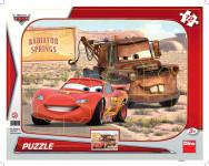 Puzzle 12 dílků Tvary Cars: Blesk a Burák