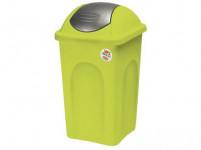 koš odpadkový výklopný PRIMAVERA 30l obdélníkový LIM/ŠE plastové víko