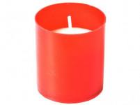 svíčka hřbitovní náhradní 5,5cm 50g (hoří 5x12hod) paraf. ČRV, BÍ (5ks)