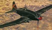 Model Iljušin II-10/Avia B-33 15,5x18,5cm