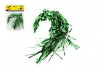 Čelenka s barevnými vlasy plast 13cm karneval