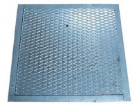 plech zákrytový 500x500mm Zn