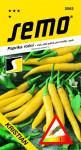Semo Paprika zeleninová pálivá chili - Kristián žlutá na pole i k rychlení 0,4g  /SHU 55 000/ - VÝPRODEJ