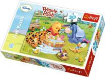 puzzle 30 - Koupel / Medvídek Pú