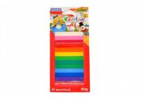Modelína/Plastelína 12 barev 140g