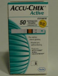 Proužky ke glukometru Accu-Check Aktive Glucose 1x50ks