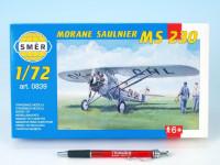 Model Morane Saulnier MS 230 9,4x14,6cm