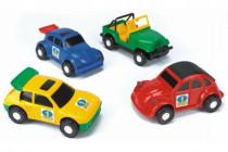 Auto Color Cars plast 20-23cm Wader - mix variant či barev