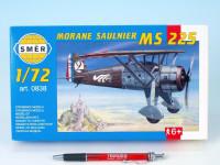 Model Morane Saulnier MS 225 1:72 9,2x15,4cm