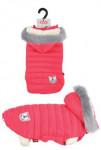 Obleček prošívaná bunda pro psy URBAN červená 40cm Zol - VÝPRODEJ