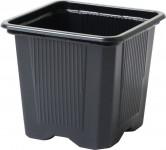 Květináč - kontejner, měkký plast 8x8x7 cm - 10 ks