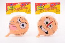 Prdící pytlík velký s obličejem