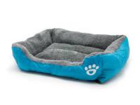 Pelech pro psy a kočky čtyřhranný, modrý, Domestico