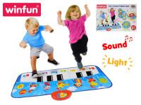 Piano tap \'n play 85 cm 8 kláves se světlem a zvukem - VÝPRODEJ
