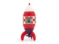 Raketa - dřevěná montessori stavebnice na magnetky