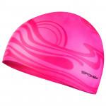 Spokey Shoal plavecká čepice silikonová růžová - VÝPRODEJ