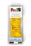 Botička ochranná Pawz kaučuk XXS žlutá 12ks