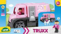 Auto Truxx přeprava koní s figurkami plast 26cm 24m+