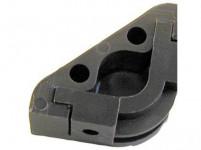 držák schodišťové tyče plastový, HN (10ks)