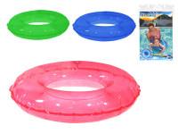 Kruh transparentní nafukovací 51 cm - mix barev