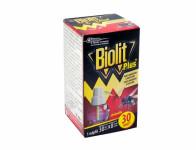 Náplň do odpařovače BIOLIT PLUS tekutá komáři a mouchy 31ml