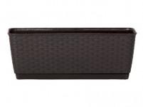 truhlík RATOLLA PW 38,6x15,4x14cm HN tm. (440U) závěs. s miskou