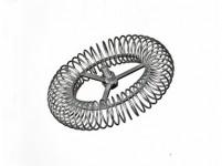 růžice komínová kruhová 140mm/M12, ocel