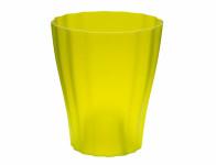 Plastia obal Ola - průsvitná zelenkavá 13 cm
