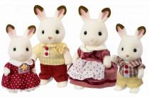 Rodina chocolate králíků - VÝPRODEJ