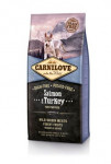 Carnilove Dog Salmon & Turkey for Puppies NEW 12kg