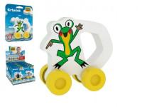Moje první autíčko Žabka pěna 8cm na kartě Krtek