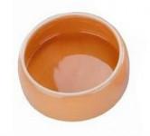Miska hlod. keramická - oranžová Nobby 250 ml - VÝPRODEJ