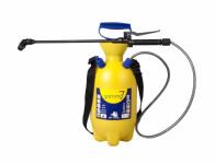 Postřikovač GAMMA tlakový ramenní plastový žlutý 7l