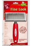 Kartáč jemný Fine Look L red image 12x18cm