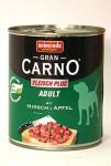 Animonda GranCarno dog konz. - jelení maso, jablka 800 g