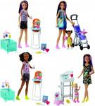 Barbie chůva herní set - mix variant či barev - VÝPRODEJ