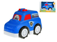 Auto policejní veselé 25 cm volný chod