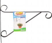 Držák na závěsný květináč - kovový Rhein 25cm - VÝPRODEJ