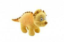 Dinosaurus žlutý plyš 30cm