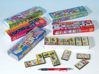 Domino společenská hra plast - mix variant či barev - VÝPRODEJ