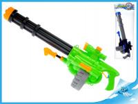 Vodní pistole 70 cm se zásobníkem a pumpou - mix barev