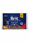 Brit Premium Cat kapsa Meat Plate 400g (4x100g)